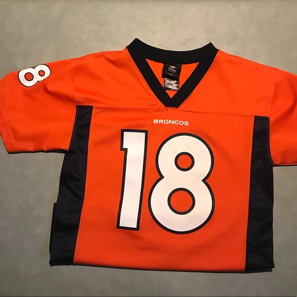 new concept 68ad0 ac435 NFL Peyton Manning Broncos Jersey youth M